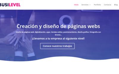 ✅👍Busilevel diseña tu web en Alicante y Benidorm con grabación de dron AESA Opiniones